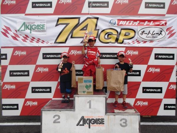 CA KART RACE RD6 リザルト バンビーノ